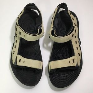 Men's Teva Suede Hiking Sandal